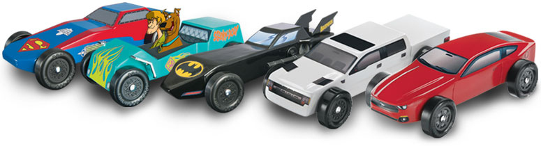 Pinewood Derby Cars At The Hobby Connection